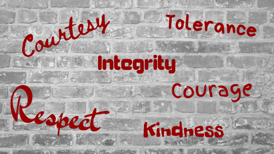 CORE VALUES – DOES IT STILL HAVE A PLACE IN MODERN SOCIETY?